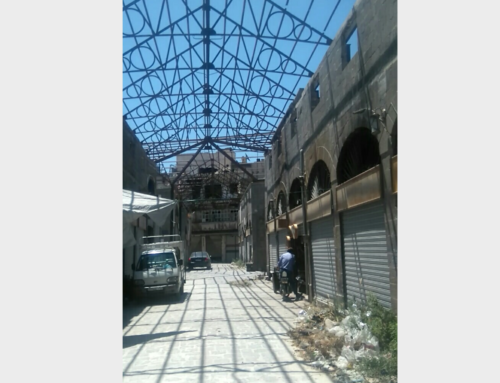 The Roofed Souk in Homs… A Memory that Has Awakened a Dream