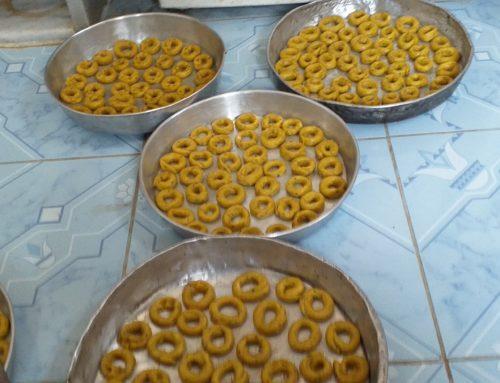 حلويات العيد حاضرة في إدلب تحت القصف