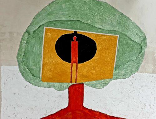 كوَشَلٍ تحت شجرة الغَرَب