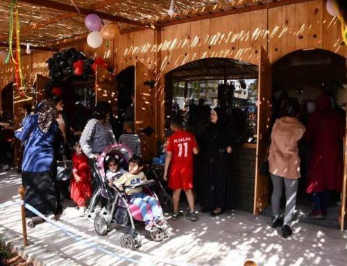 سوق خاص بالنساء السوريات في القامشلي