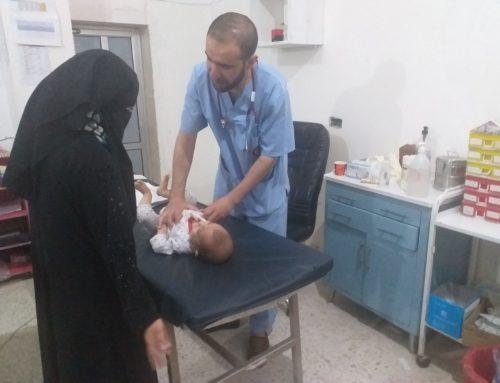 سوء التغذية.. وباء يفتك بأطفال المخيمات السورية